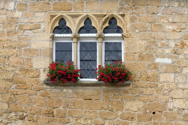 starożytny okno obrazy stock