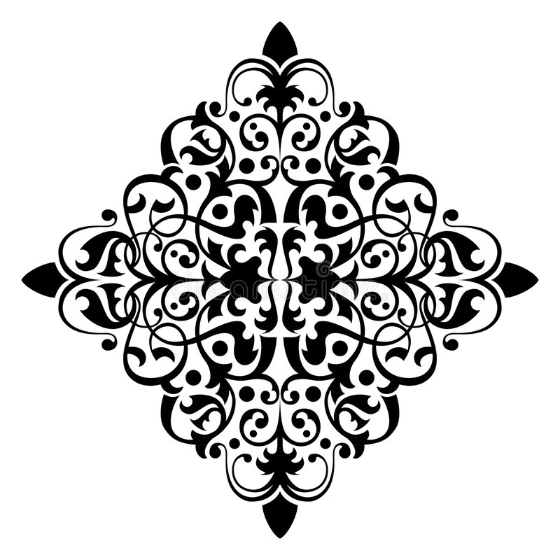 starożytny ornament ilustracja wektor