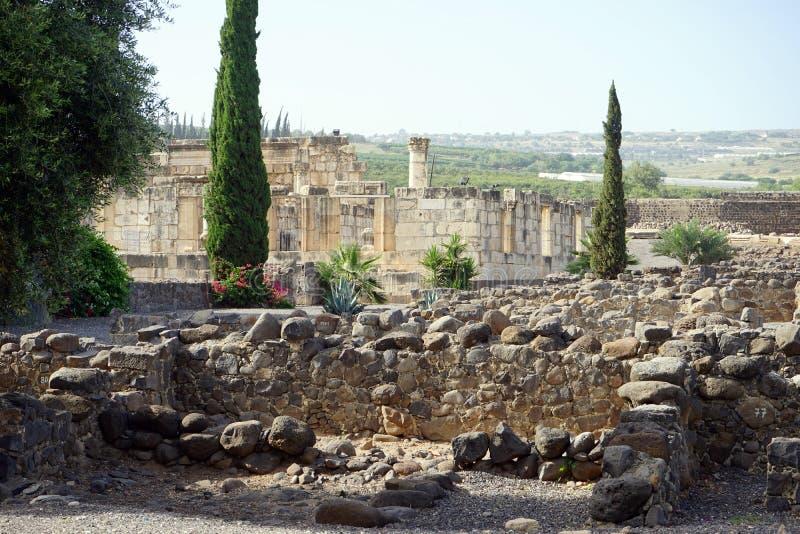 starożytny pamukale niszczy miasto odnotować indyka, zdjęcia stock