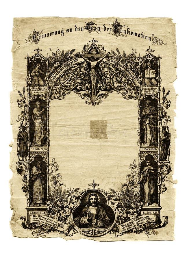 starożytny papieru obrazy stock