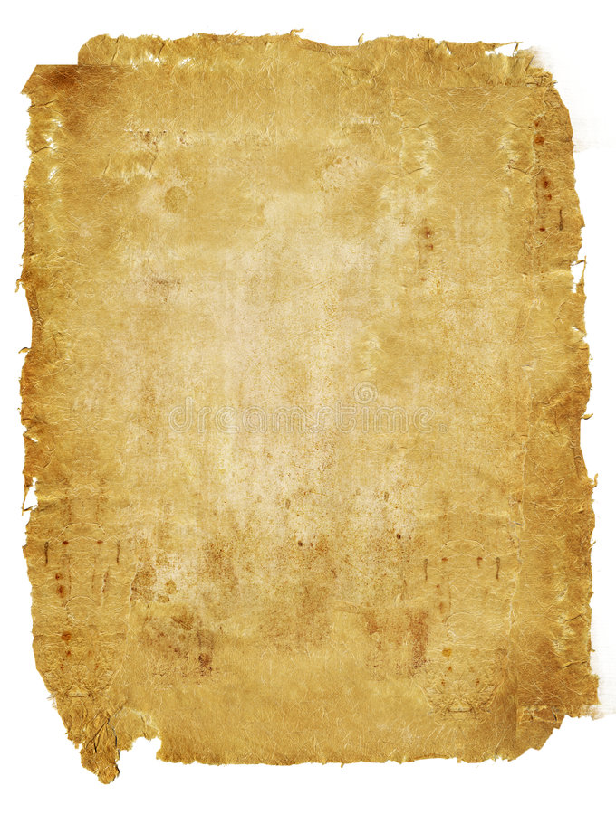 starożytny pergamin obrazy royalty free