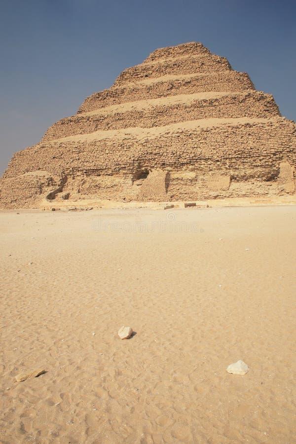 starożytny piramidy krok obraz royalty free
