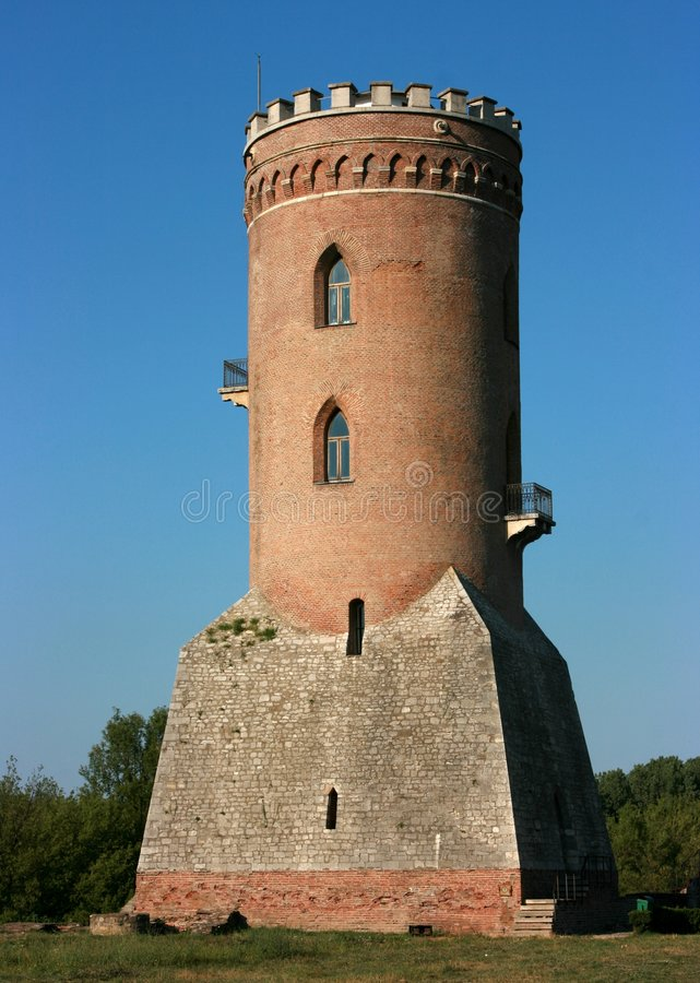 starożytny twierdzy tower obraz stock