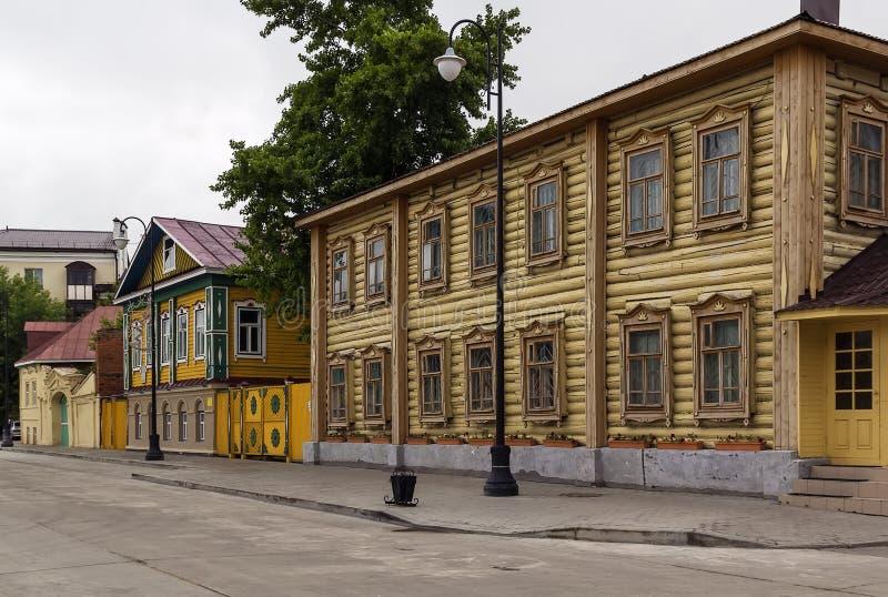 Staro-Tatarskaya Sloboda, Kazan (Stara Tatar wioska) obrazy royalty free