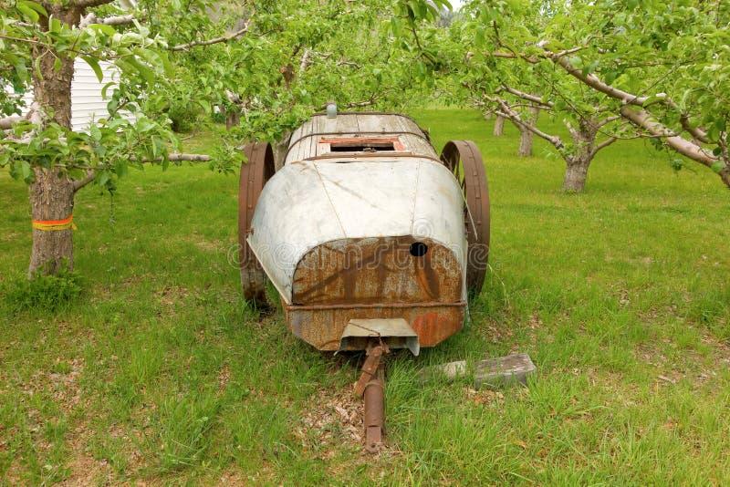 Staromodny contraption używać pionierskimi rolnikami w północnym Canada obrazy stock