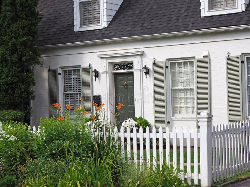 Staromodny dom fotografia royalty free