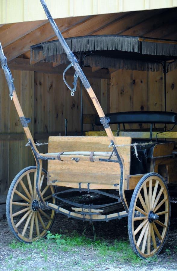 Staromodny furgon zdjęcia royalty free