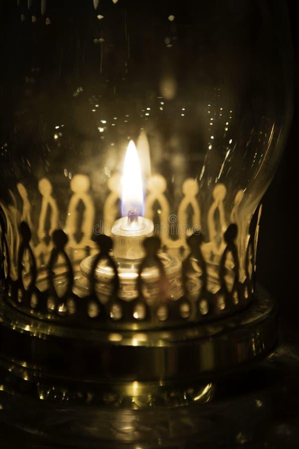 Staromodny nafciany lampion obrazy royalty free
