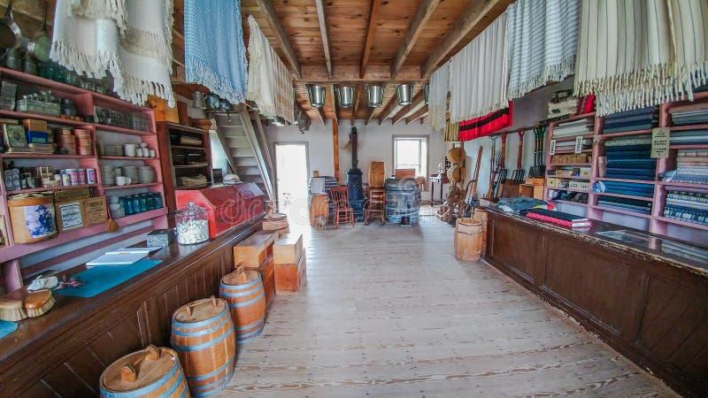 Staromodny Ogólny sklep - stary świat Wisconsin obrazy stock