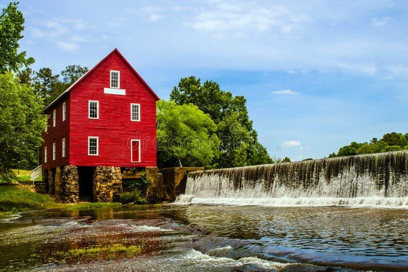 Starrs maler, en historisk gränsmärke nära Atlanta fotografering för bildbyråer
