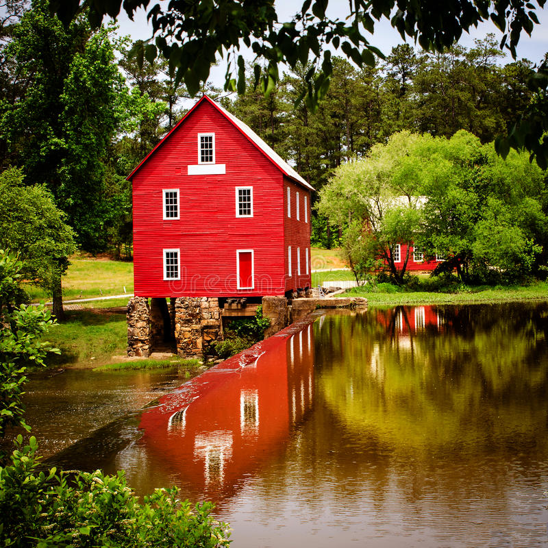 Download Starrs Mill, A Historic Landmark Near Atlanta Stock Photo - Image: 31037732