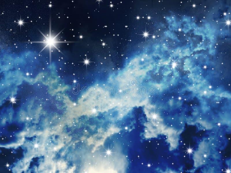 Starry stock illustration