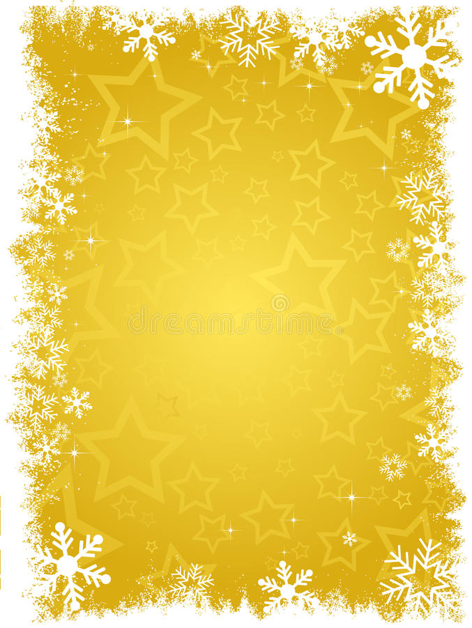 Starry background vector illustration