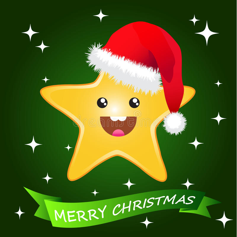 Download Starry Christmas stock illustration. Illustration of starry - 16868976