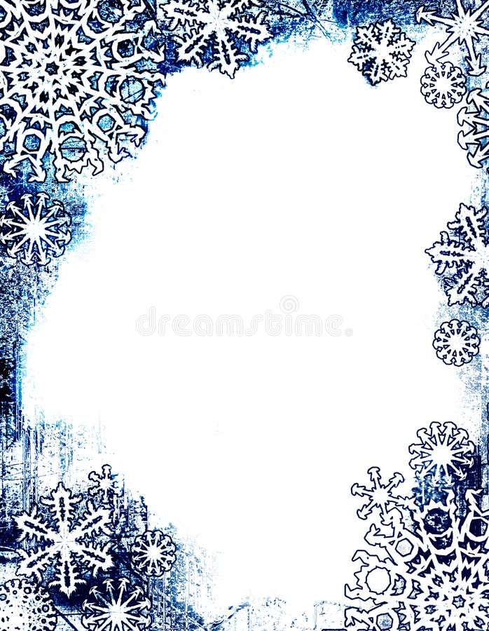 Starry-edged page royalty free illustration