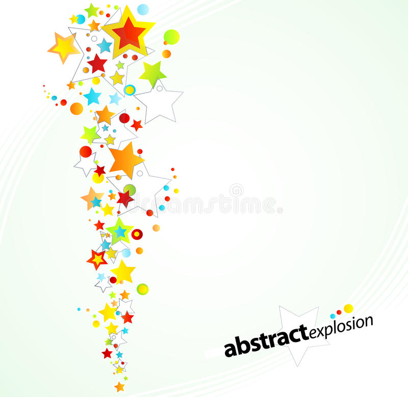 Download Starry explosion design stock vector. Illustration of happy - 14304222
