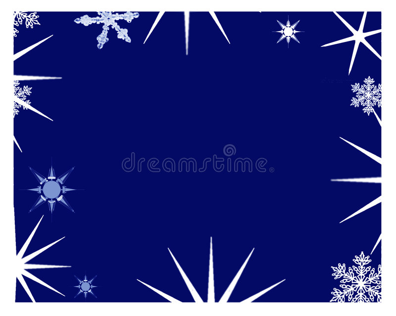 Starry frame stock images