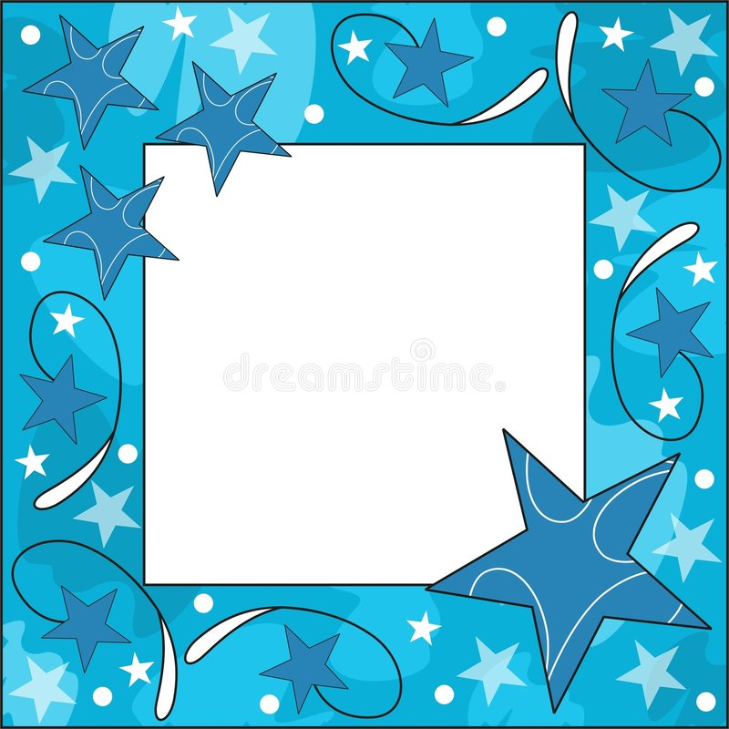 Download Starry frame stock illustration. Image of magical, graphic - 3663812