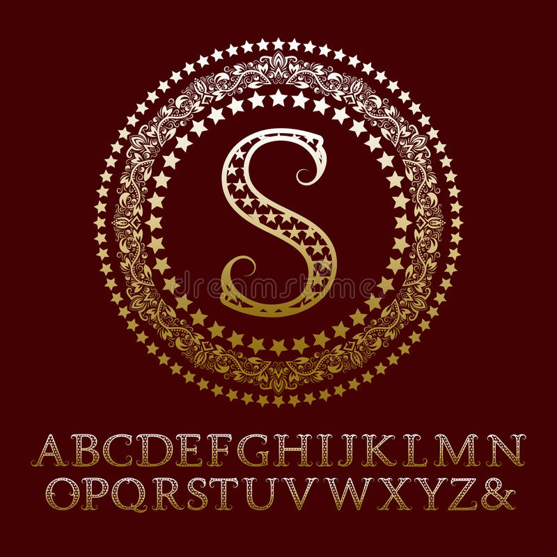 Stylish english alphabets s