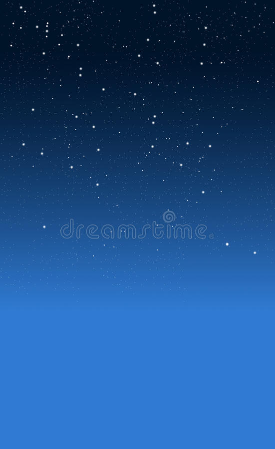 Download Starry night stock photo. Image of multiple, constellation - 17413540