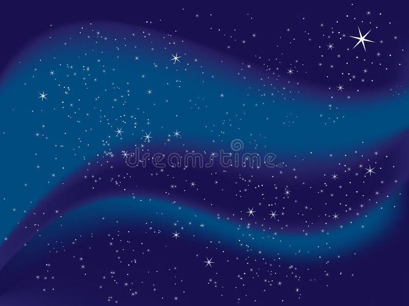 Download Starry Night stock vector. Illustration of mesh, glitter - 2191050