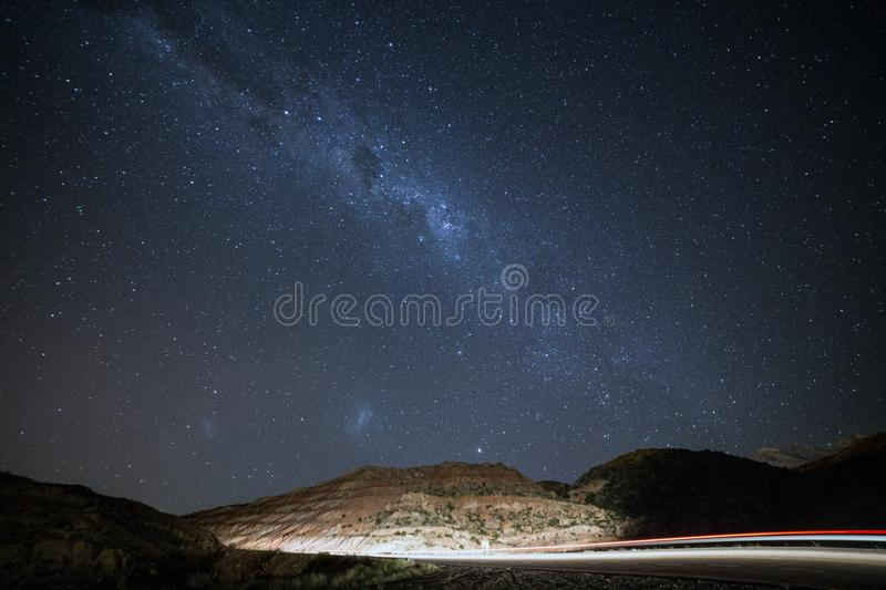 Starry Night Sky royalty free stock photos