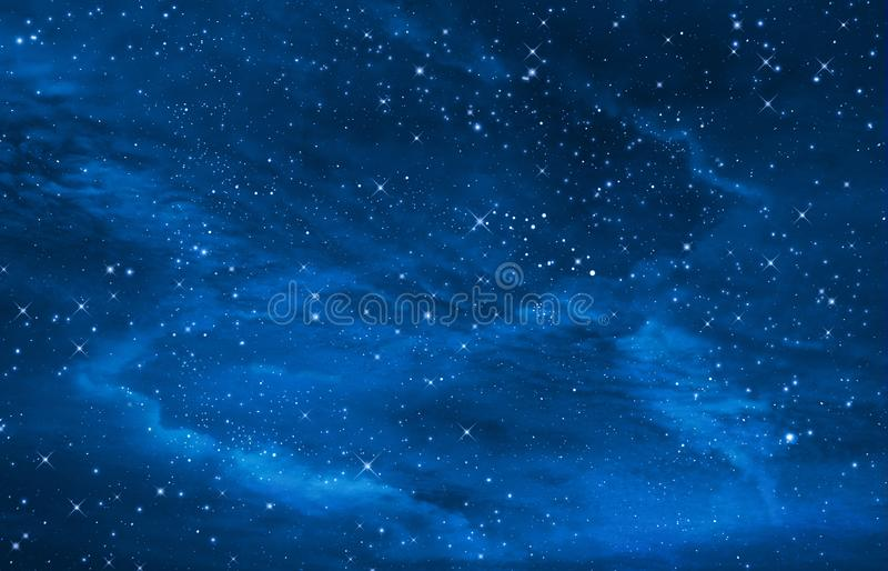 starry night sky out space background royalty free stock photos