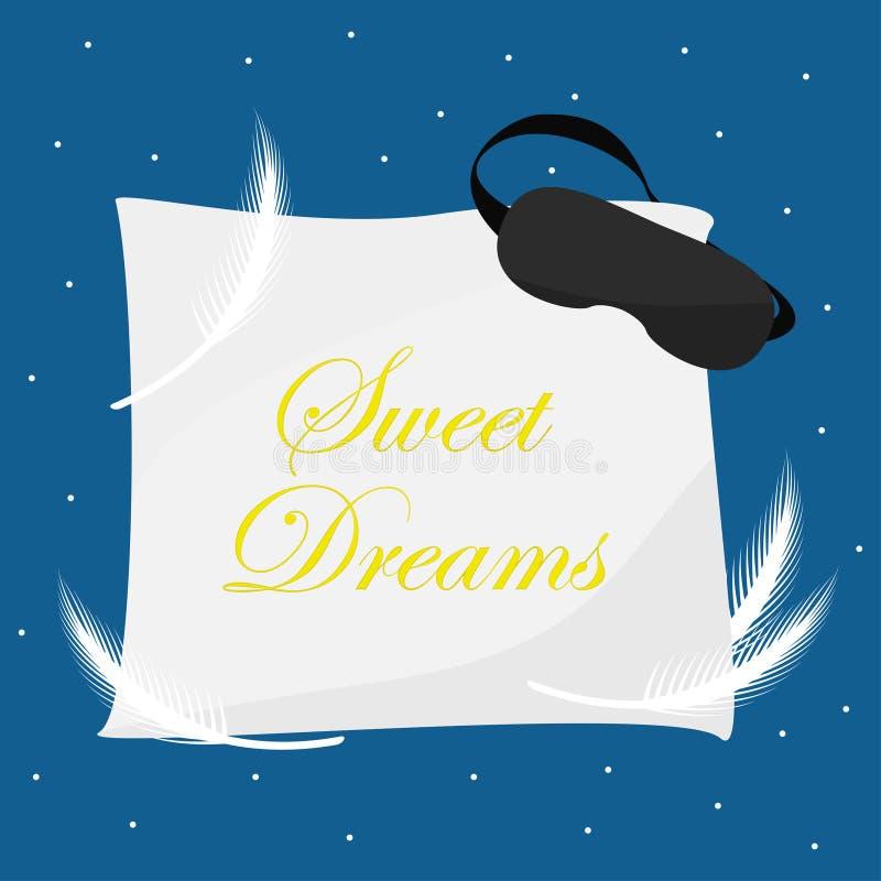 Starry night sky stock illustration