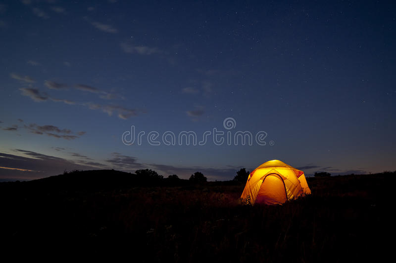 Starry Night stock photography