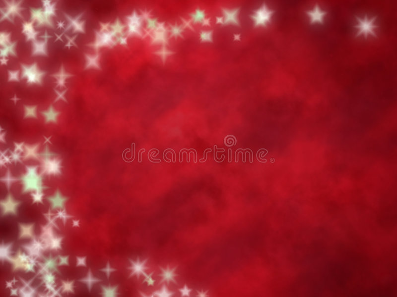 Starry red background royalty free illustration