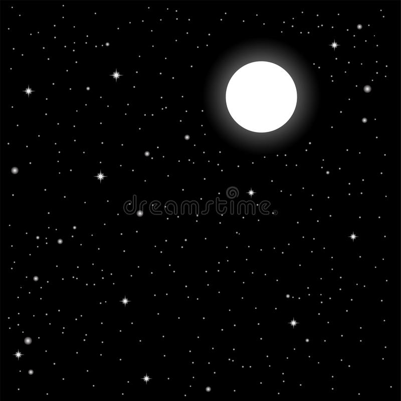 Download Starry sky stock vector. Image of vast, galaxy, time - 10914069