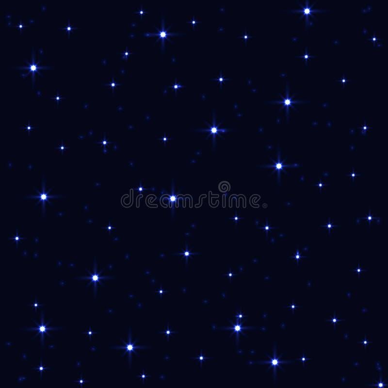 Starry sky royalty free stock image