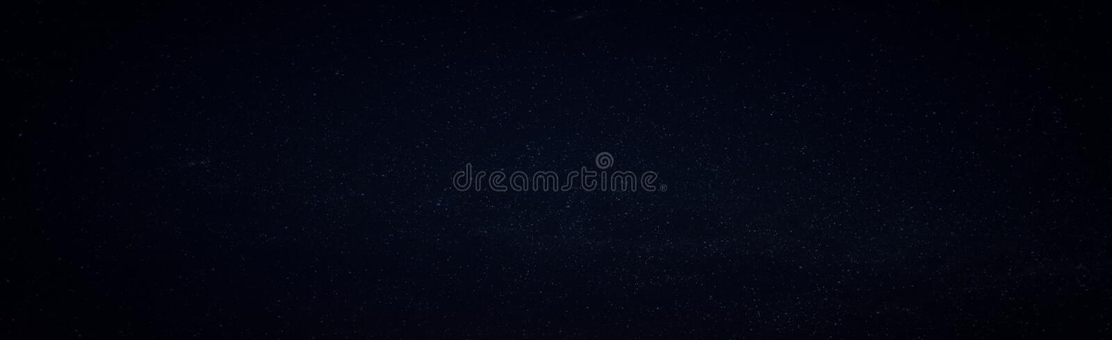 Starry sky faded abstract panoramic background. stock photos