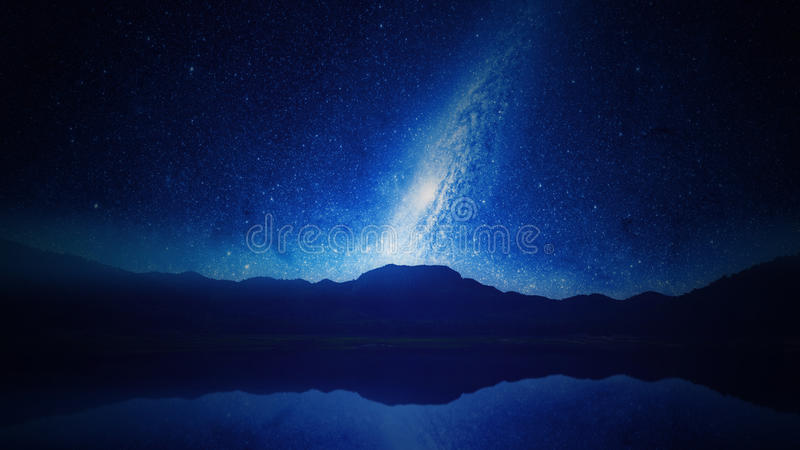 Starry Sky At Night Free Public Domain Cc0 Image