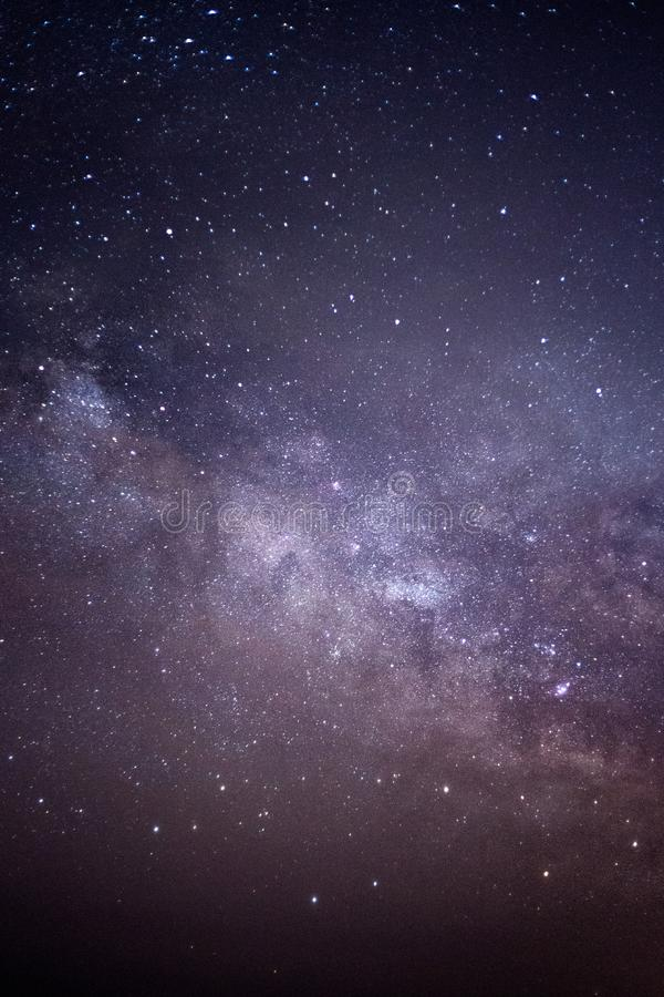 Starry Sky Night royalty free stock photography