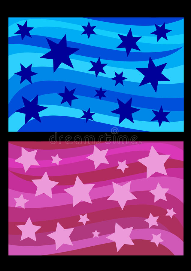 Download Stars stock vector. Illustration of blue, backdrop, vector - 21688834