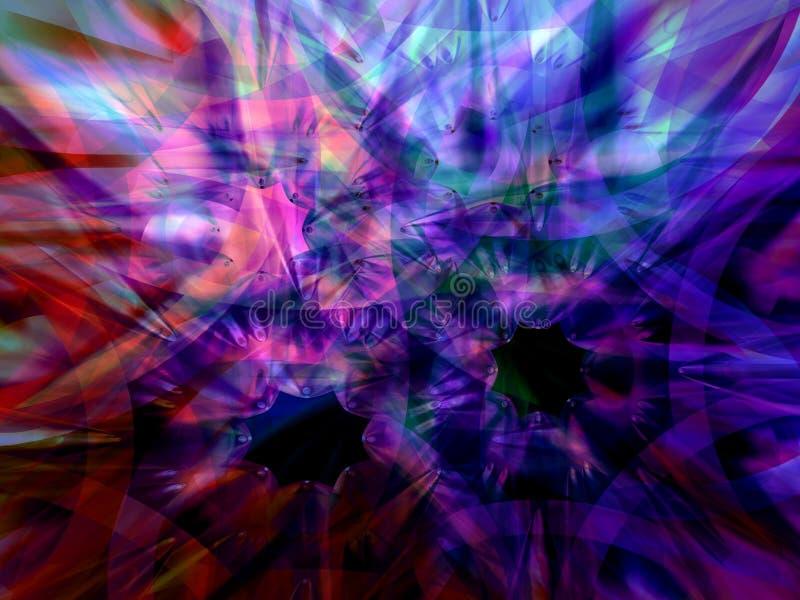 Download Stars 3 stock illustration. Image of blue, color, dark - 2322257