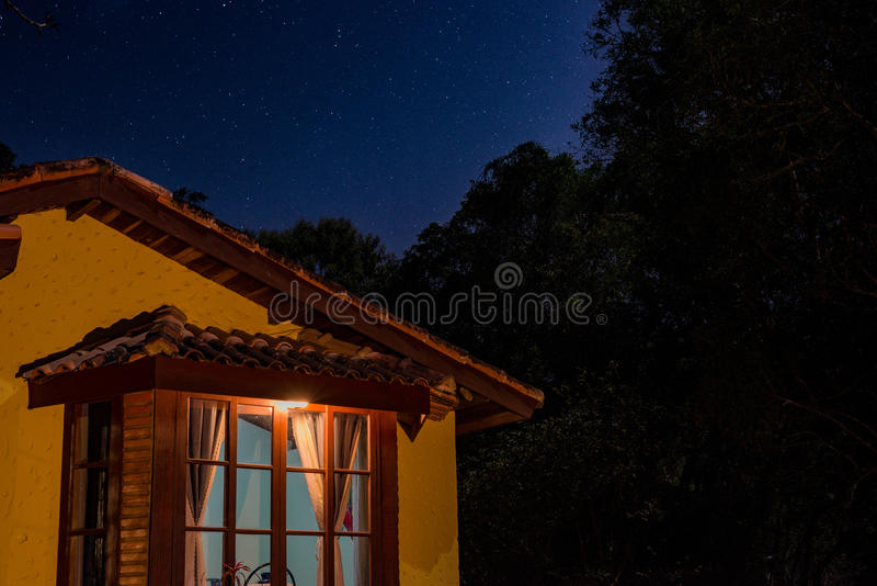 Stars above royalty free stock images
