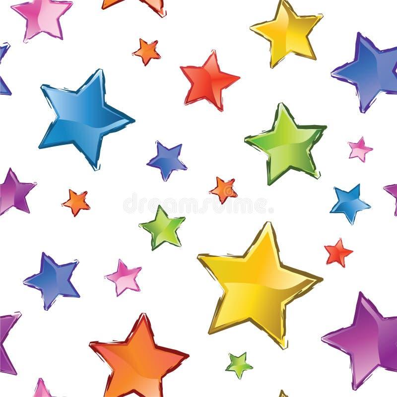 Stars abtract Beschaffenheit vektor abbildung