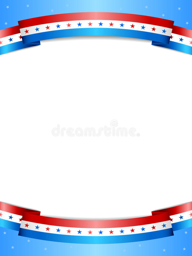 Free Stars And Stripes Background Royalty Free Stock Image - 30733136