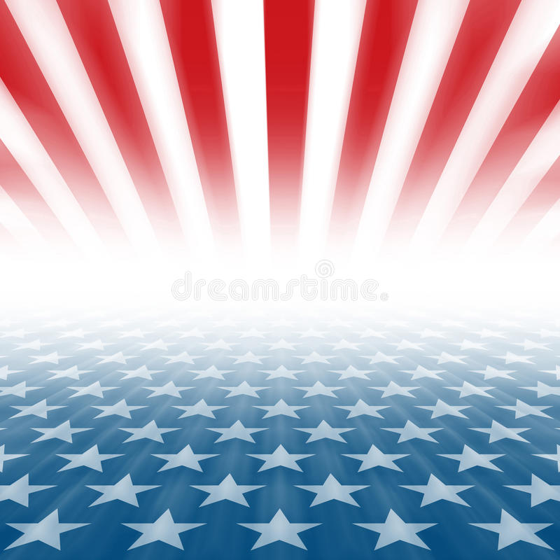 Free Stars And Stripes Perspective Background Stock Photo - 69211880