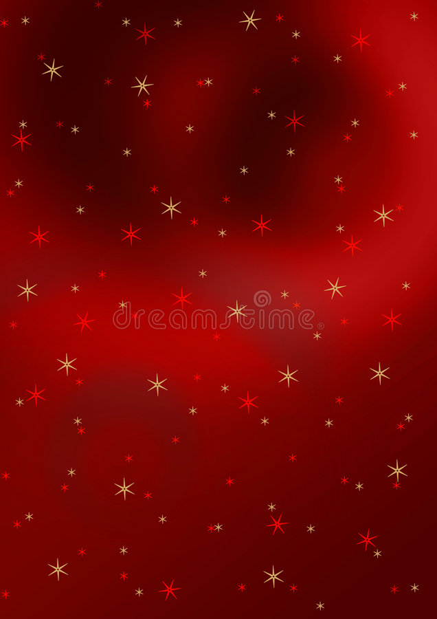 Stars background stock illustration