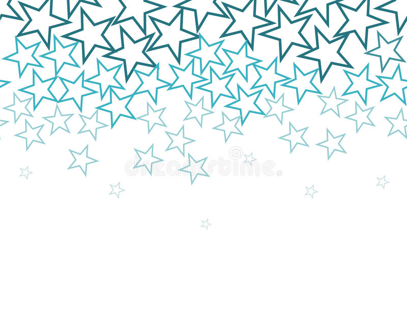 Download Stars Background Over White Stock Vector - Image: 12509152