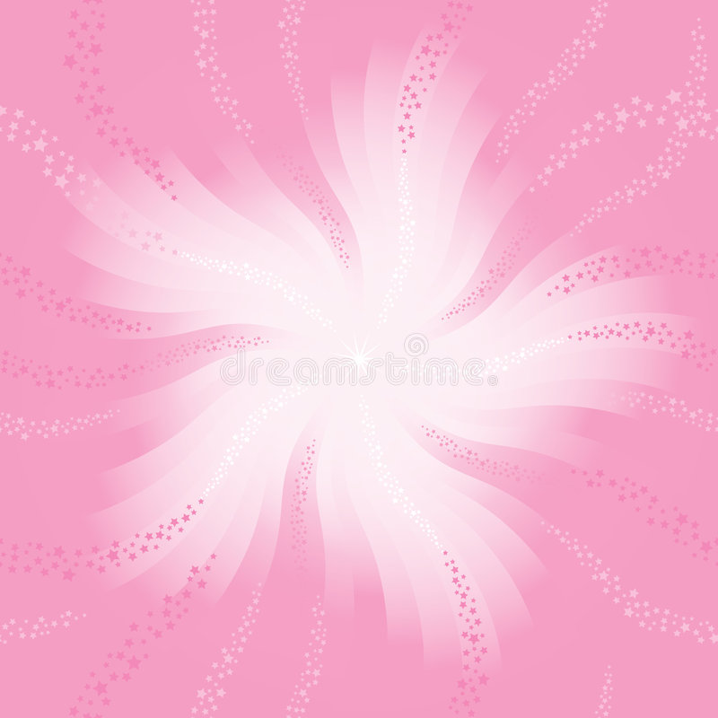 Stars background  pink