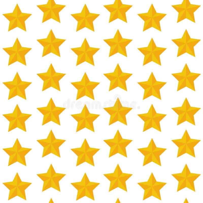 Stars background. Simple illustration stock photo