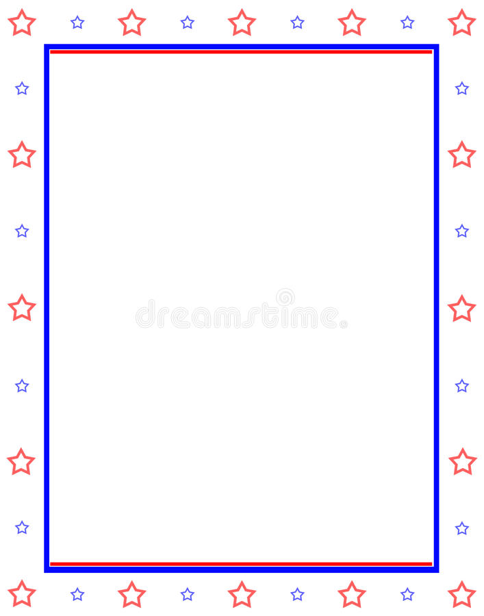 Stars and bars background royalty free stock photos