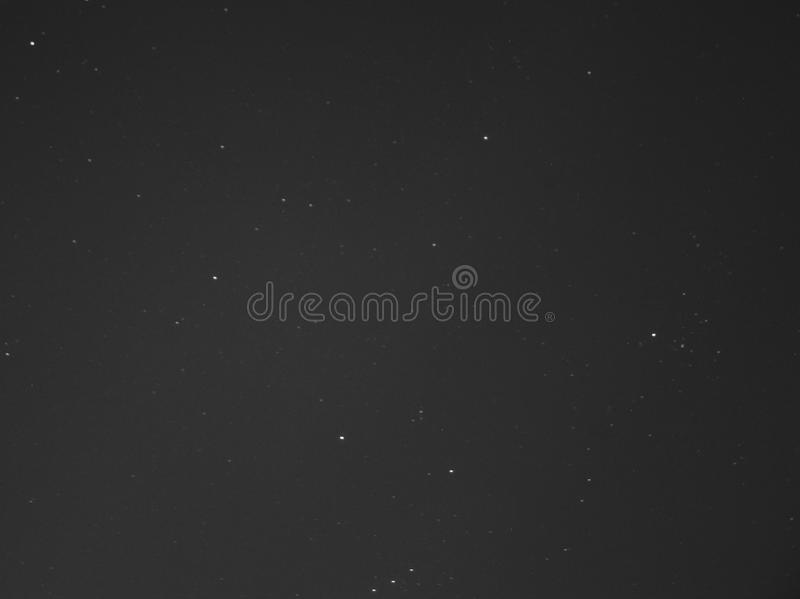 Stars in black sky stock photos