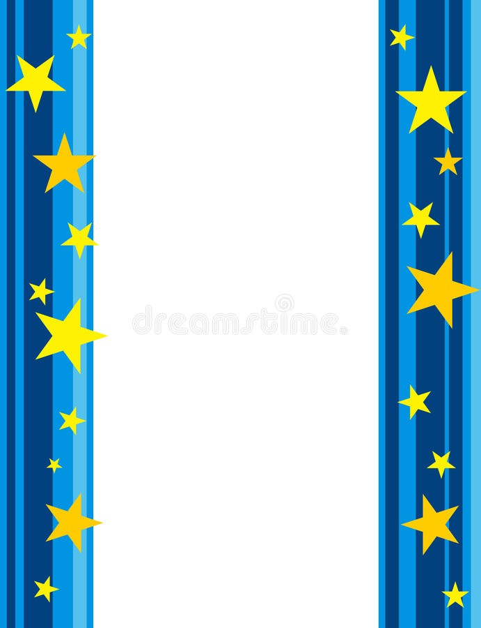 stars border    frame stock illustration  illustration of