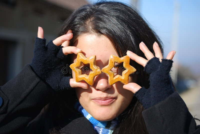 Stars cookies stock photography