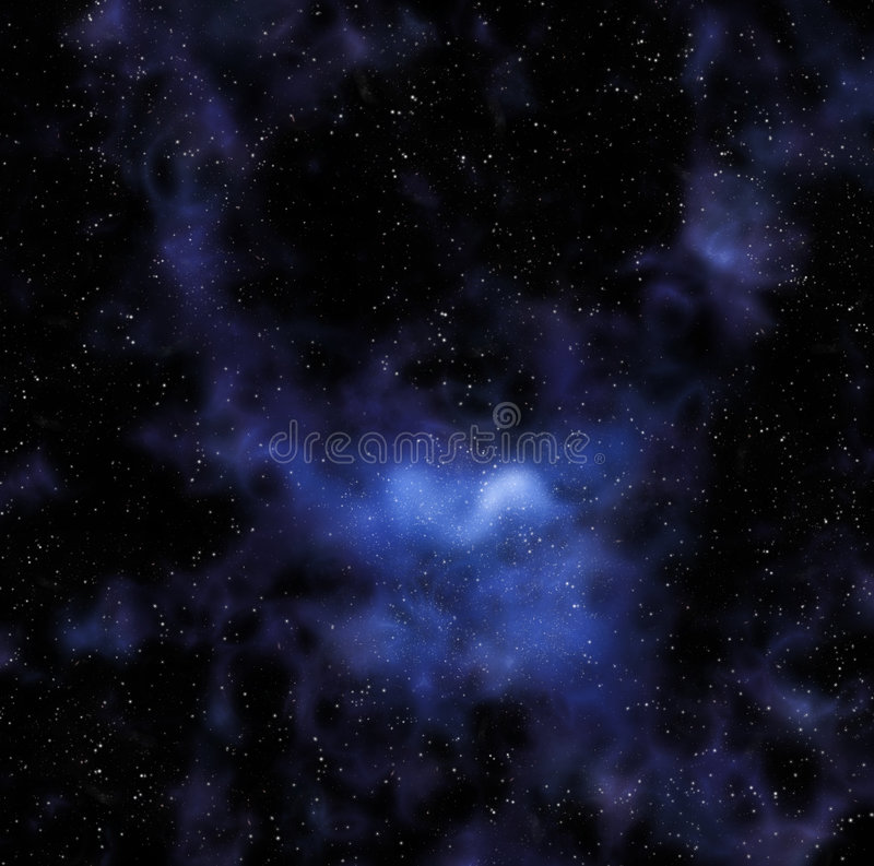 stars in deep or outer space royalty free illustration
